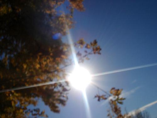 Raios solares UV
