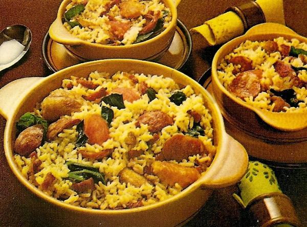 Receita de arroz cozido com costelinha