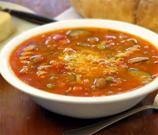 Receita de minestrone