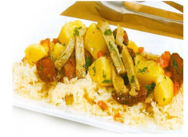 Receita Vegetariana - Espargos com Chouriço de Soja