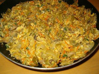 Receita Vegetariana: Legumes à Brás