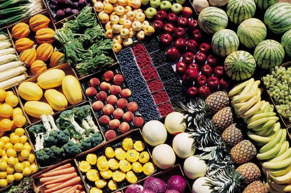 Reconhecer os beneficios dos alimentos através das suas cores