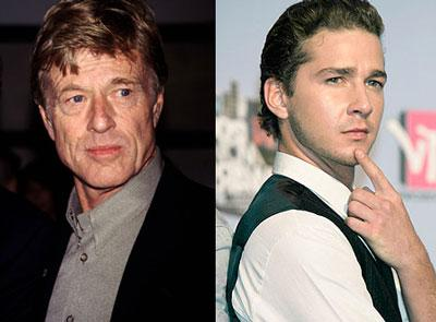 "Redford e LaBeouf juntos em ""The Company You Keep"""