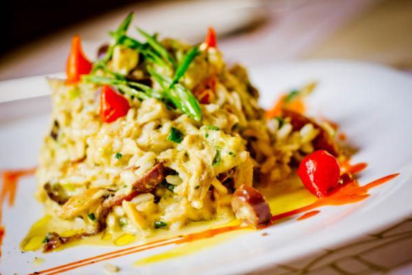 Risoto de bacalhau - Uma pitada de sabor ao paladar!
