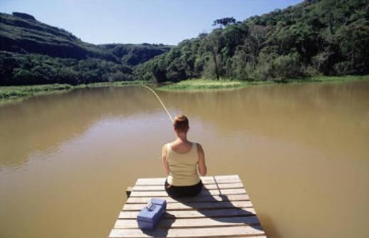 Sabe pescar?