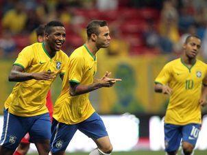 Sem Muito Esforço, Brasil Goleia Os Estados Unidos Em Brasília