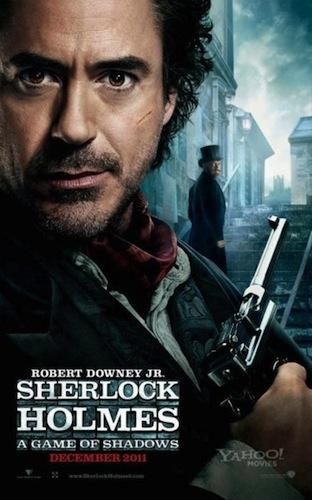 """Sherlock Holmes: A Game of Shadows"" já tem posters"
