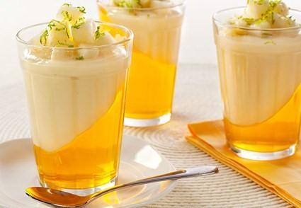 Sobremesa gelada de abacaxi – Receita