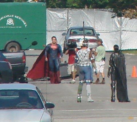 """Superman sem os seus calções vermelhos no novo """"Man of Steel""""?"""