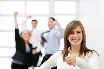 Tenha atitudes positivas no trabalho