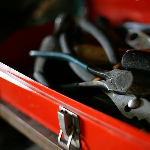 Transporte as ferramentas de uma forma segura
