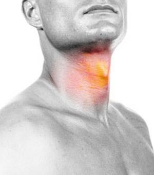Tratamento das doenças do intestino, laringite e doenças da língua