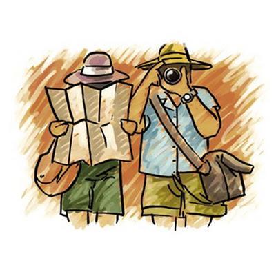 Turistas e Seus Tipos de Personalidades