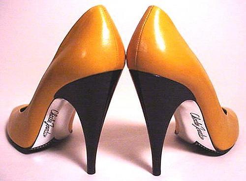Um adorno para os pés