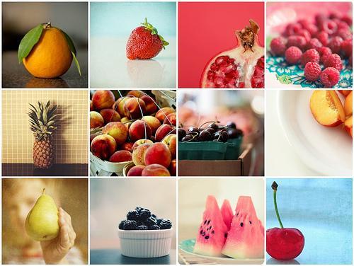 Uma alimentação rica em frutas