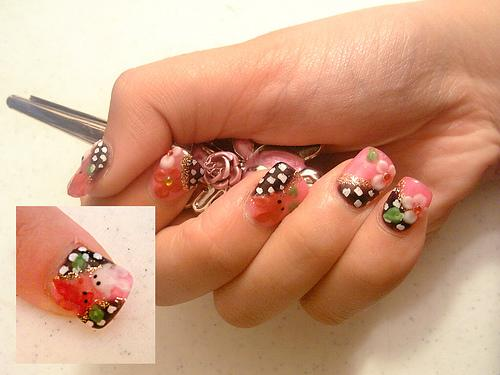 Unhas decoradas Cool nail design ideas at home