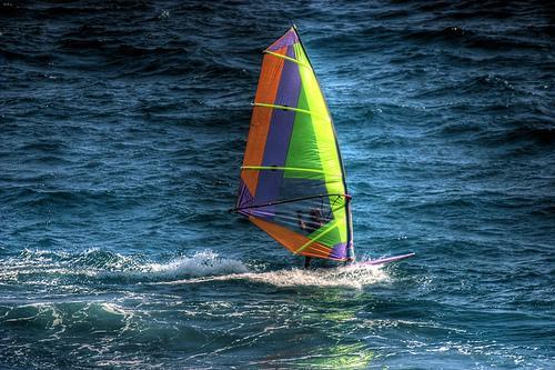 Windsurf: um dia de diversão