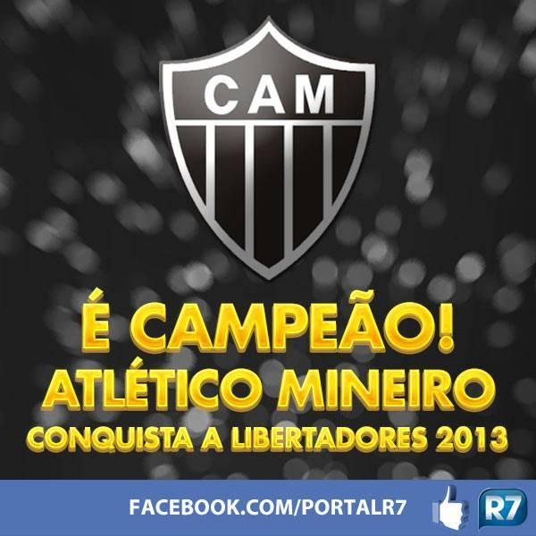 1º Taça Libertadores Da América Do Atlético Mineiro.