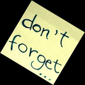 5 Coisas Que Não Devemos Esquecer
