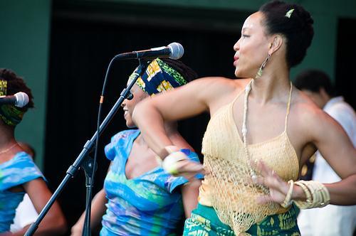 A dança como vertente musical africana