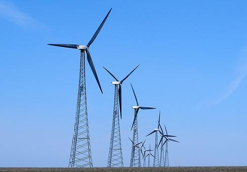 A força do vento
