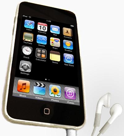 A funcionalidade de um Ipod