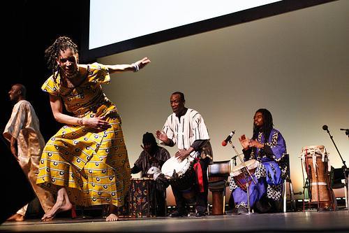 A música na África