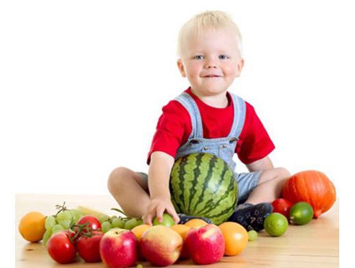 Alimento Saudável para o crescimento da criança