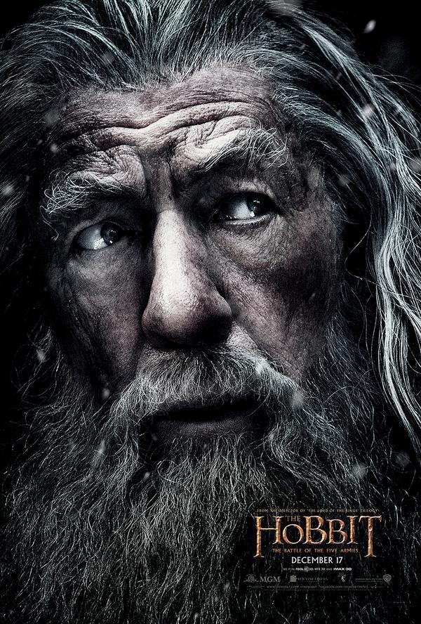 """""""O Hobbit: A Batalha Dos Cinco Exércitos"""" Tem Novo Poster"""