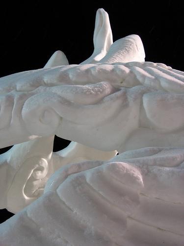 As esculturas na decoração