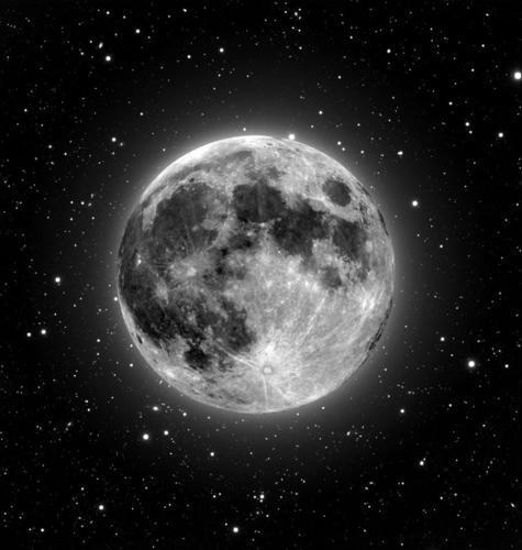 As sombras românticas da Lua