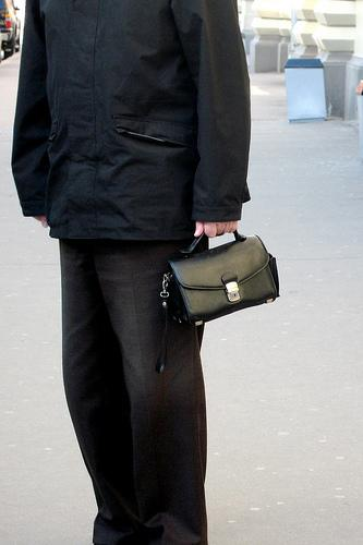 Bolsas: não são apenas um acessório femenino