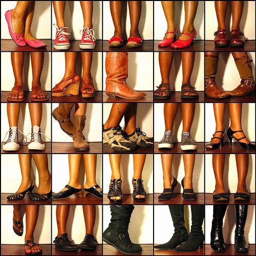 Como conservar o calçado