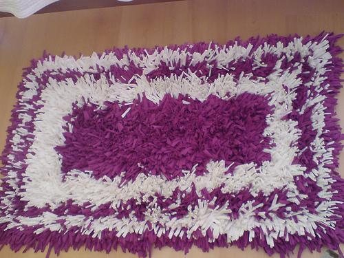 Como Fazer Tapetes de Tirela