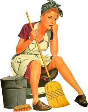 Como ganhar coragem para arrumar a casa?
