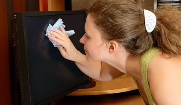 Como limpar telas de LEC e LCD