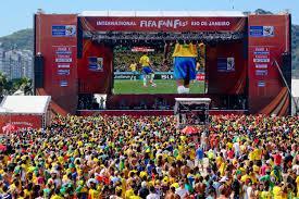 Confira os locais em que haverão os FIFA Fan Fests 2014 no Brasil