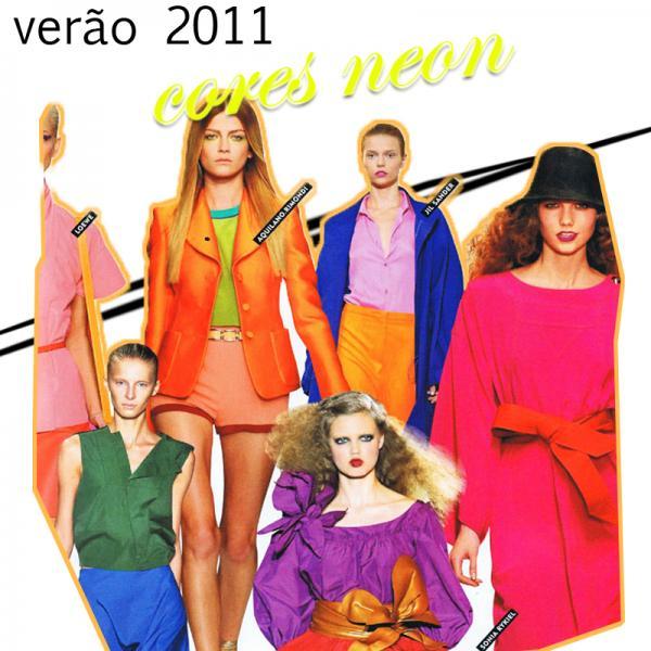 Cores Neon - Verão 2011
