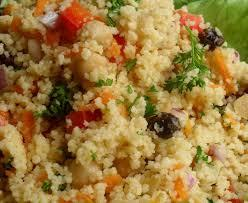Cuscuz marroquino, delícia das Arábias.
