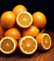 Delicioso bolo de laranja