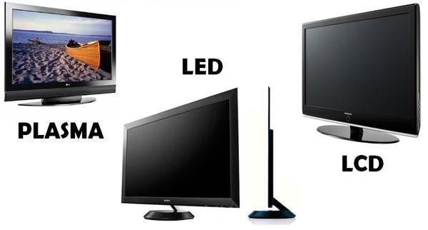Descubra as diferenças entre TVs de LED, LCD e Plasma