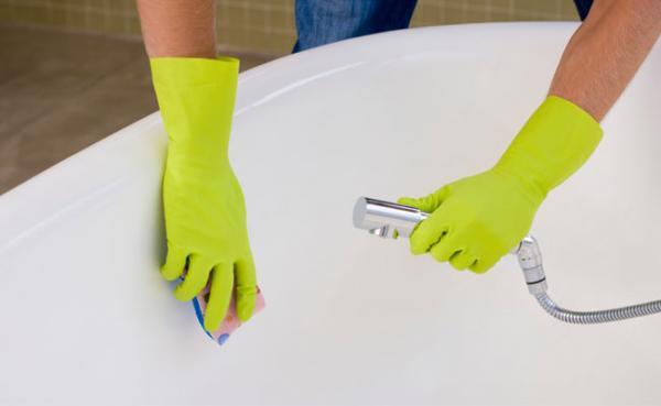 Dicas para limpar a banheira
