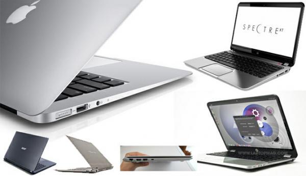 Diferença entre notebook e ultrabook