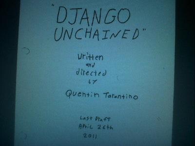 """Django Unchained"", de Quentin Tarantino"