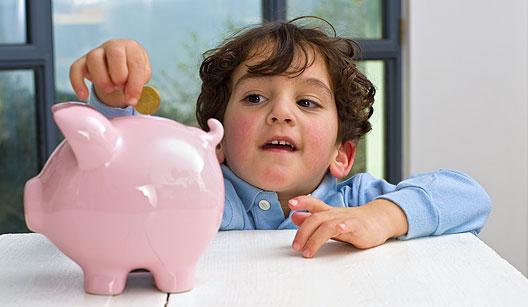 Ensine seu filho a lidar com o dinheiro