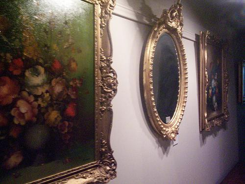 Espelhos antigos – Peças de arte intemporais