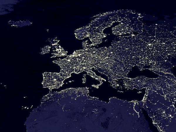 Europa medieval e atual
