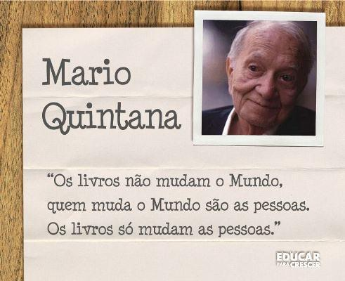 Frases Inspirativas De Mario Quintana