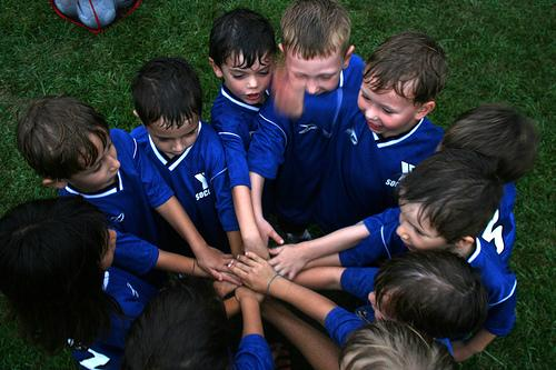 Futebol fortalece os laços afectivos
