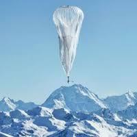 Google testa uso de balões para levar internet a áreas remotas